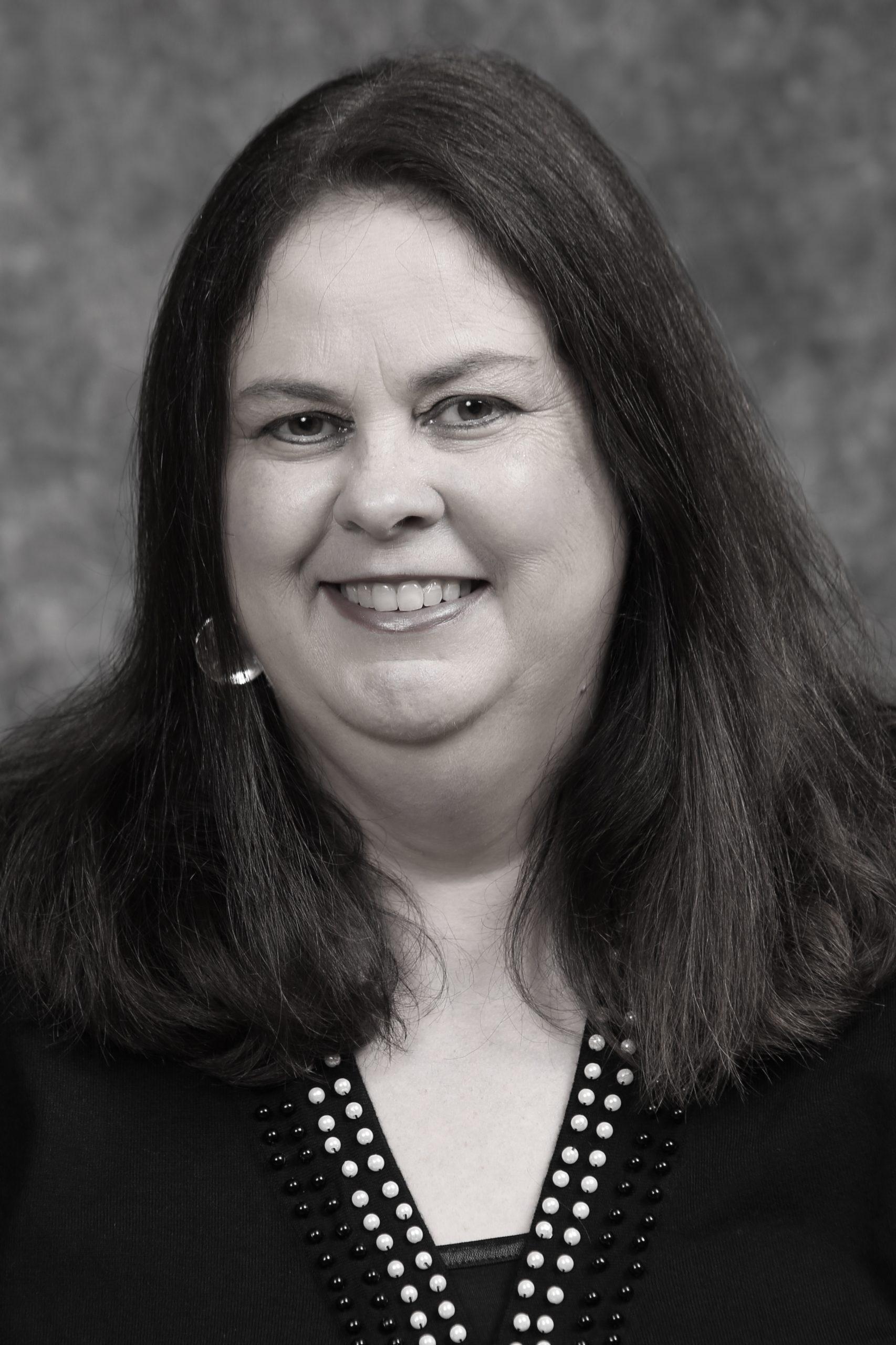 Kate Mahoney Black and White Portrait