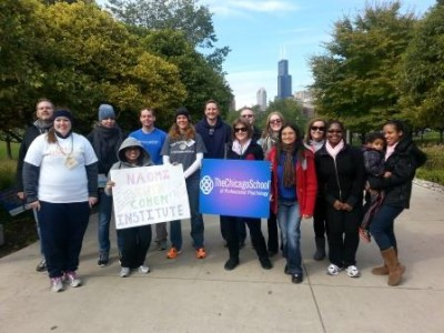 NRCI/TCS Team at this year's Out of the Darkness Walk